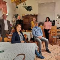 Martin + Ewald + Petra + Lara + Bernhard + Claudia = Vorstand der Roten-Rhön